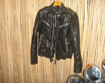 Norton British motorcycle jacket leather jacket