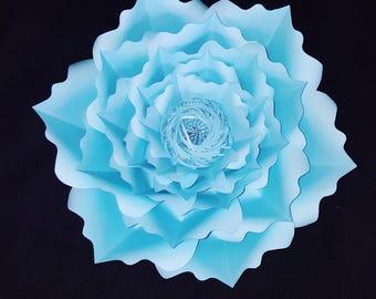 baby blue flower