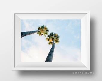 SALE//FLORA SERIES 2//Palm Trees, Desert Wall Art, Tree Print, Modern Decor, Instant Download