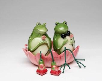Frog Salt and Pepper Shaker Set (61515)