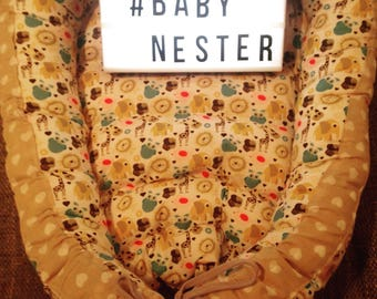 Baby nest according to your wishes