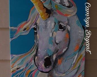 Unicorn Painting, Wall Decor