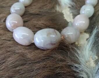 Vintage necklace vintage glass necklace vintage stone necklace vintage green necklace retro necklace vintage bead necklace