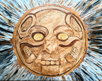 Jaguar Stone Disk!
