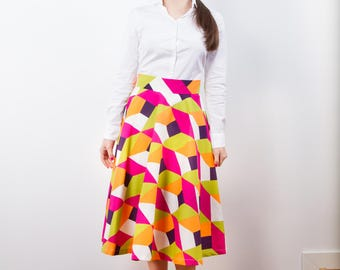 Exclusive skirt with hand game portfolio