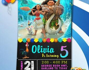 Moana/Moana Invitation/Moana Birthday/Moana Birthday Invitation/Moana Birthday Party/Moana Birthday Invites/Moana Invitation Digital