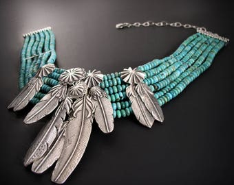 The Mummy's Bundle Cluster of Silver and Feathers