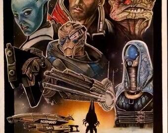 Original Mass Effect Drawing