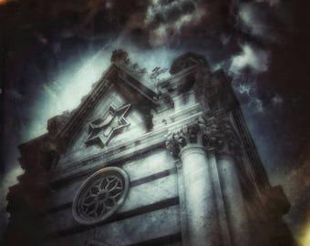 Friedhof, X