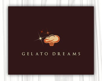Dessert logo | Premade logo | Sweet logo |  Boutique Logo | Business Logo