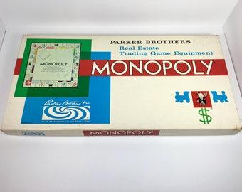 Vintage Monopoly Board Game