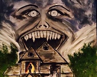 Fright Night -painting