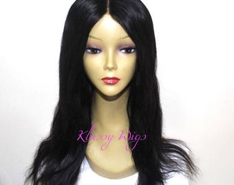 Straight Custom Made Human Hair Wig