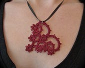 Custom Tatted Lace Hearts