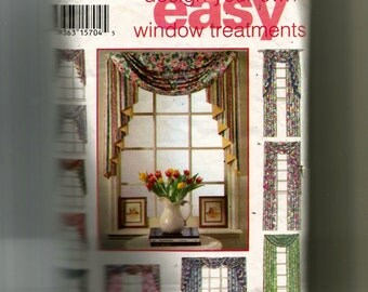 Simplicity Design Your Own Window Treatments  Pattern 9105