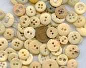 Bone Buttons Variety Lot of (24) Vintage Genuine Antique Civil War Reenactor MORE AVAILABLE