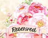 Reserved Listing for Nicole Menges