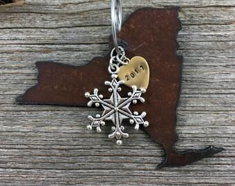 NEW YORK Christmas Ornament, New York Ornament, Christmas Gifts 2017 Christmas Ornaments, New York Ornaments