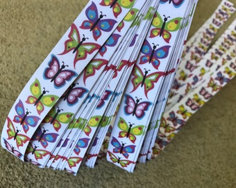 Half price* Weaving Star Paper~ Butterflies (52 strips)