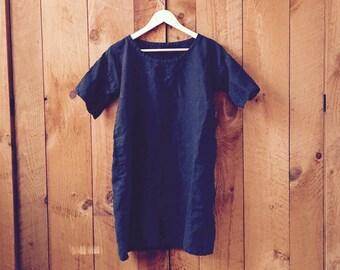 The Essential Linen Dress - minimalist loose fit  - sizes XS - XL