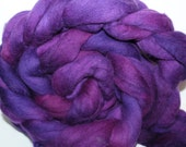Kette Dyed Polwarth wool top. Roving. Spin. Felt. Super Soft. 1lb. FREE SHIP #P45