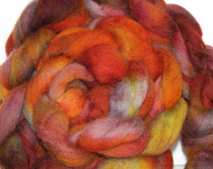 Kette Dyed Cheviot wool top. Roving. Spin. Felt.  1lb. FREE SHIP #CET1