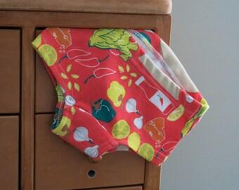 Taco Night - children's underwear, girls hipster panties (made to order)