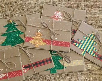 20 for 25 Handmade Holiday Note Cards