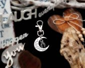 GR-3 Brain Cancer Awareness Brain Tumor I Love You To The Moon and Back Gift For Him Mens Womens Keychain To The Moon & Back Gift For Her