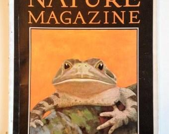 Nature Magazine TROPIC FROG  April Vol 15 No 4 1930 Vintage Nature Magazine