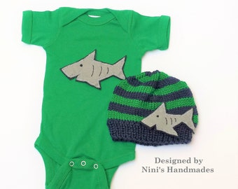 Shark baby shower