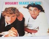 George Michael, Wham, Make It Big, Vinyl Record Album, 1984