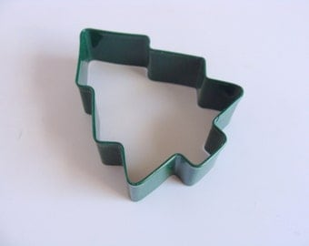 Green Pine Tree Color Coated Cookie Cutter