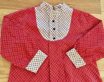 1960s Paisley Dress 3/4T