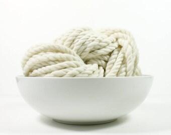 3ply bare .. yarn, wool yarn, handspun yarn, hand spun yarn, rainbow yarn, 2ply candy cane yarn, bulky wool yarn,