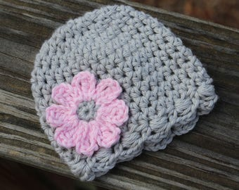 Crochet baby hat, Newborn crochet hats, Newborn preemie hat,  baby girl hat, crochet baby hats, twins crochet baby hat