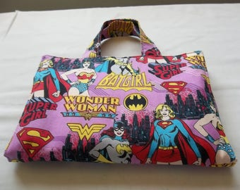Kids, Crayon Holder, Crayon Caddy, Activity Case, Super Girl, Wonder Women, Bat Girl, Coloring Case, Kids Art Case, Travel Coloring, Gift
