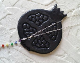 Balance Necklace with Chakra Stones
