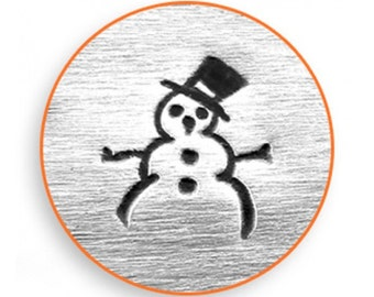 Impress Art 6mm Snow Man Stamp Design Stamp  Decorative Stamp