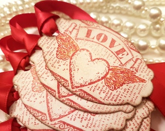 Steampunk Valentines, Steampunk Gift Tags, Steampunk Wedding, Valentines Gift Tags, Be My Valentine, Valentine Gift Wrap, Boyfriend Gift,