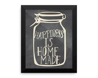 Framed Kitchen Art, Funny Kitchen Art
