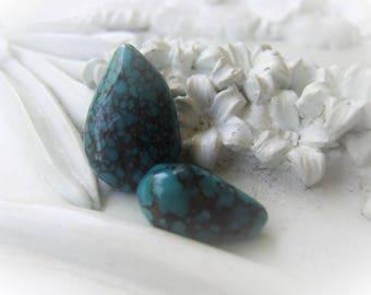 Turquoise Teardrop Set Natural Turquoise Briolette Item No.  9900