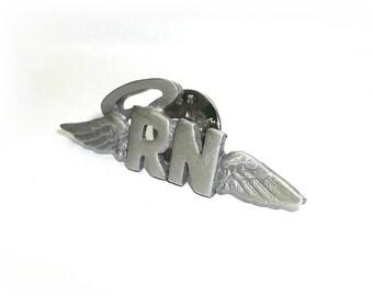 RN Nurse Halo Wings JJ Nursing Hospital pin New Graduation Gift Pinning Ceremony