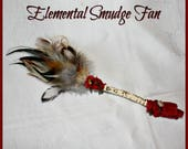 Elemental Smudge Fan