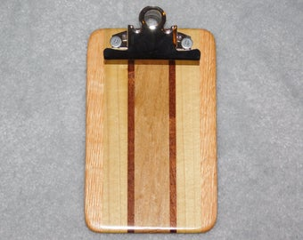 "Mini Wood Clipboard  (4""x6.5"")"