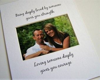 Being deeply loved by someone Photo Mat Design M50