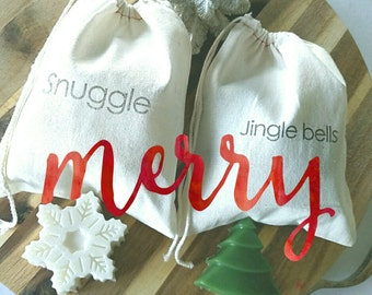 Gift Set. Gift for her. Coworker Gift. body butter & soap Christmas Gift Set personalized. SNUGGLE Stocking Stuffer Bath Body Gift Set SBG
