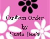 Custom Listing for Carolina