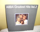 Abba Greatest Hits Volume 2 Record album NEAR MINT condition