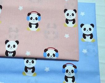 4553 - Panda Twill Cotton Fabric - 62 Inch (Width) x 1/2 Yard (Length)
